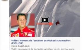 Michael Schumacher, finto video della caduta con virus