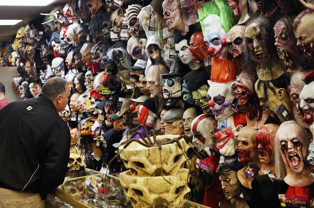 Costumes In Demand As Halloween Festivities Approach