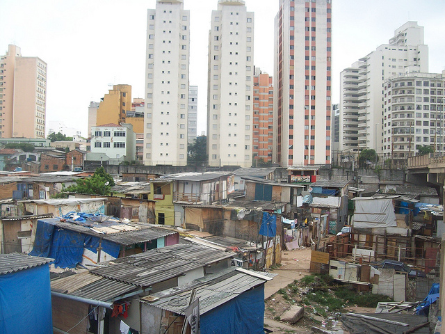 Favelas a Natal, in Brasile