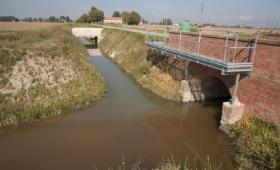 Bologna: sversamenti sospetti in un canale di Baricella, l'acqua diventa marrone. FOTO