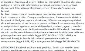 Facebook, la bufala del messaggio sulla tutela della privacy