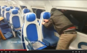 Vandali minorenni devastano un treno, video su Youtube