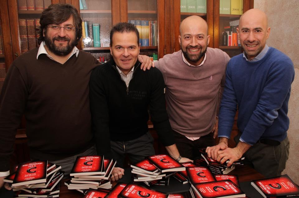 Autori del libro non prendermi per il chilometro-fonte foto: A. Bellucci