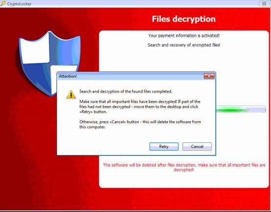virus ransomware dati pc criptati