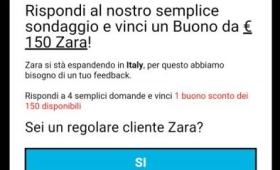 Whatsapp news 2016: la truffa dei buoni acquisto Zara