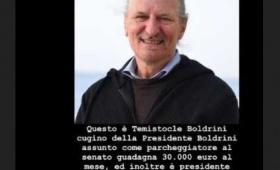 La bufala di Temistocle, il finto cugino di Laura Boldrini